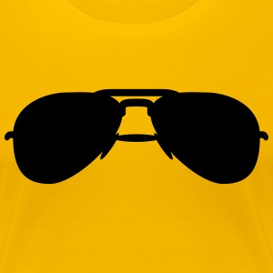 coole_sommer_sonnenbrille_1f Tee shirts - T-shirt Premium Femme