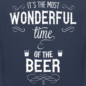 most_wonderful_time_of_beer_w Tank Tops - Männer Premium Tank Top