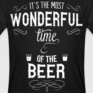 most_wonderful_time_of_beer_w T-shirts - Organic mænd