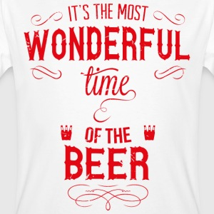 most_wonderful_time_of_beer_r T-shirts - Mannen Bio-T-shirt