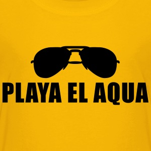 Coole Playa El Aqua Sonnenbrille T-Shirts - Teenager Premium T-Shirt