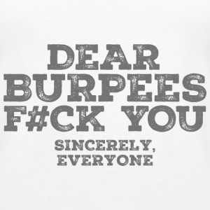 Dear Burpees F#CK You Tops - Vrouwen Premium tank top