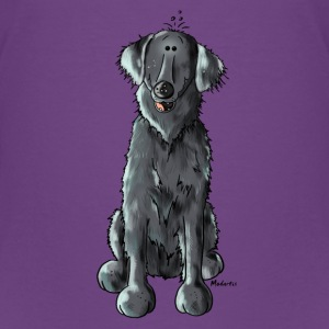 Lustiger Flat Coated Retriever - Hund T-Shirts - Teenager Premium T-Shirt