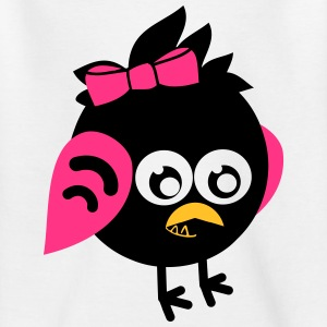 Monstamoon _ Birdimon girl T-Shirts - Kinder T-Shirt