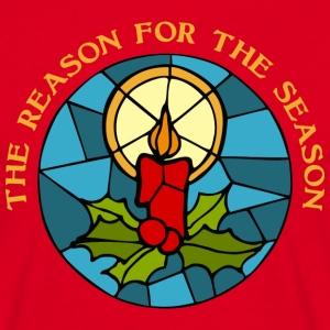 The reason for the season 3 T-shirts - Mannen T-shirt