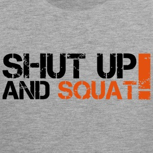 Shut Up And Squat Canotte - Canotta premium da uomo