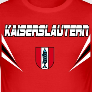 Kaiserslautern Vector T-Shirts - Männer Slim Fit T-Shirt