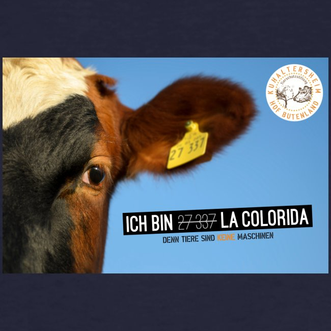 "T-Shirt ""La Colorida"" bio"