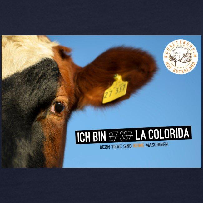 "T-Shirt ""La Colorida"" bio Girlie"