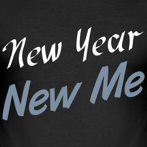 New Year T-shirts - Slim Fit T-shirt herr