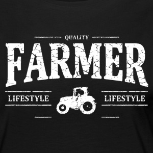 Farmer Long Sleeve Shirts - Women's Premium Longsleeve Shirt