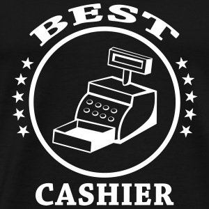 Best Cashier T-Shirts - Men's Premium T-Shirt
