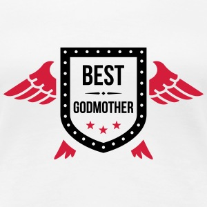 Best Godmother T-shirts - Premium-T-shirt dam