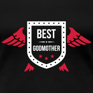 Best Godmother T-Shirts - Women's Premium T-Shirt