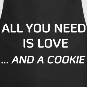 All You Need Is Love ... And A Cookie  Aprons - Cooking Apron