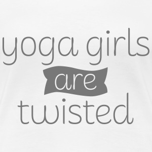 Yoga Girls Are Twisted T-shirts - Vrouwen Premium T-shirt