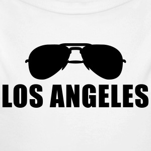 Coole Los Angeles Sonnenbrille Pullover & Hoodies - Baby Bio-Langarm-Body