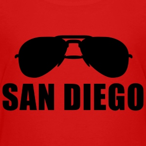 Coole San Diego Sonnenbrille T-Shirts - Teenager Premium T-Shirt