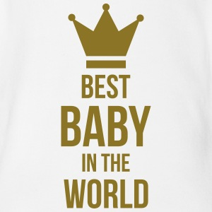 Best Baby in the World Paidat - Vauvan lyhythihainen luomu-body