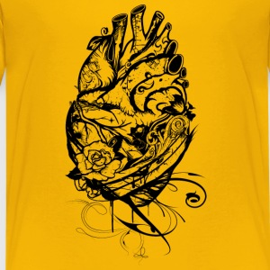 An ornate Anatomical Heart Shirts - Teenage Premium T-Shirt
