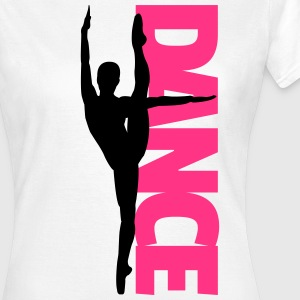 Dance Text Girl  T-skjorter - T-skjorte for kvinner