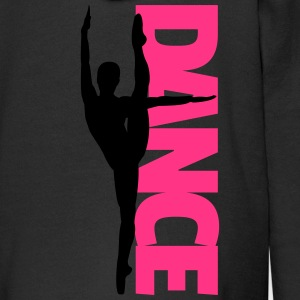 Dance Text Girl  Hoodies - Kids' Premium Zip Hoodie