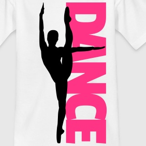 Dance Text Girl  T-shirts - T-shirt barn