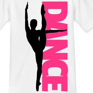 Dance Text Girl  Shirts - Kinderen T-shirt