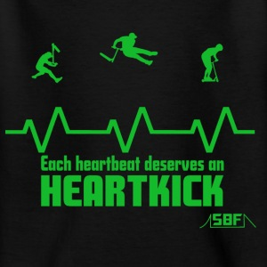 Heartbeat Scooter T-Shirts - Teenager T-Shirt