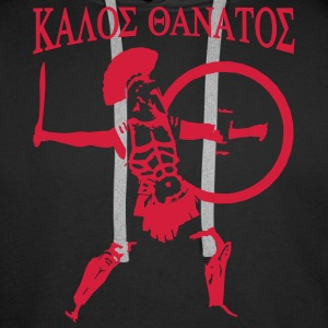 Spartan 6 + Kalos Thanatos Sweat-shirts - Sweat-shirt à capuche Premium pour hommes