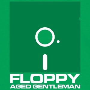 Floppy Aged Gentleman - War Games - Kontrast-T-shirt herr