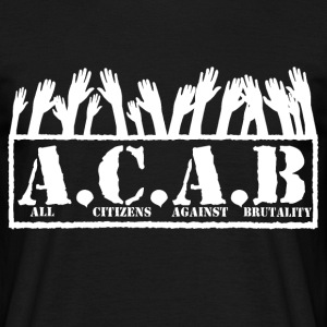 T-shirt Homme - All Citizens Against Brutality
