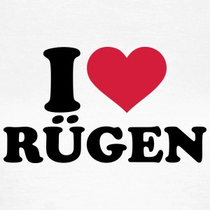 I love Rügen T-Shirts - Frauen T-Shirt