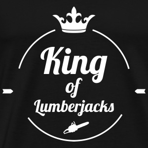 King of Lumberjacks T-shirts - Premium-T-shirt herr