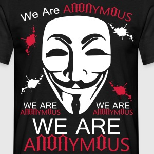 T-shirt We Are Anonymous - T-shirt Homme