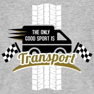 The only good Sport is Transport T-Shirts - Männer Bio-T-Shirt