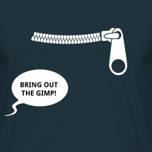 Bring out the gimp - Pulp fiction - T-shirt herr