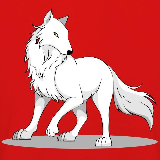 Kinder Langarmshirt mit Wolf