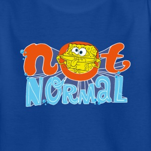 Teenagers' Shirt SpongeBob 'Not Normal' - Teenage T-shirt