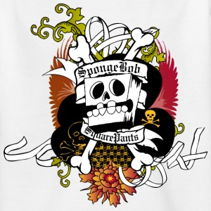 Teenagers' Shirt SpongeBob Skeleton - Teenager T-Shirt