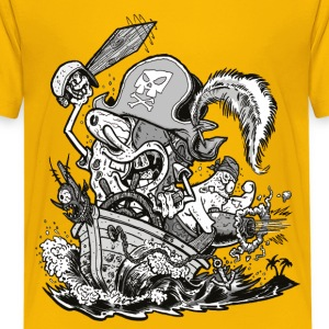 Teenagers' Premium Shirt Pirate SpongeBob - Camiseta premium adolescente