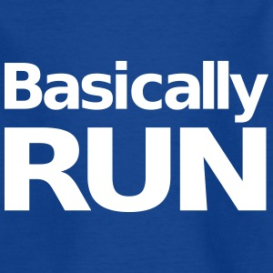 Basically Run Tee shirts - T-shirt Enfant