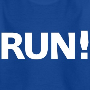 Run Shirts - Kids' T-Shirt