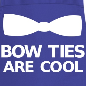 Bow Ties Are Cool Kookschorten - Keukenschort