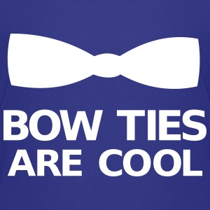Bow Ties Are Cool T-shirts - Premium-T-shirt barn
