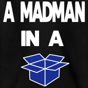 A Madman in a a blue box  Shirts - Kids' T-Shirt