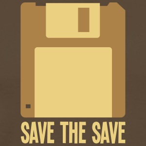 Save The Save - Assembler - Premium-T-shirt herr