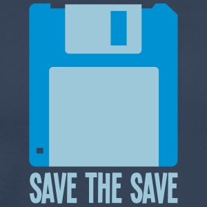 Save The Save - Workbench - Premium-T-shirt herr