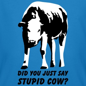 Stupid Cow? T-Shirts - Mannen Bio-T-shirt
