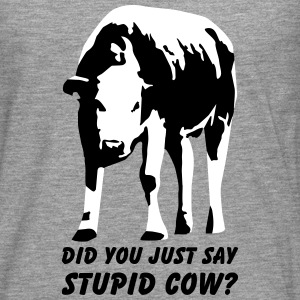 Stupid Cow? - Men's Premium Longsleeve Shirt